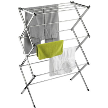 jcpenney.com | Honey-Can-Do® Chrome Commercial Drying Rack