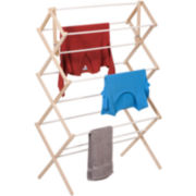 Honey-Can-Do® Heavy Duty Wood Accordion Drying Rack