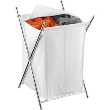 jcpenney.com | Honey-Can-Do® 2-Compartment Chrome Folding Hamper