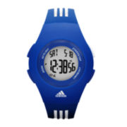 adidas® Furano Womens Blue & White Digital Chronograph Sport Watch