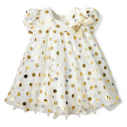 Bonnie Baby Dot Dress - Girls 3-24m