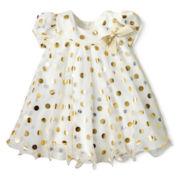 Bonnie Baby Dot Dress - Girls 3-24m