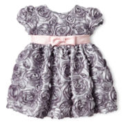 Marmellata Rosette Dress - Girls 3m-24m