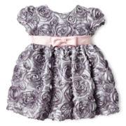 Marmellata Rosette Dress - Girls 3m-24m