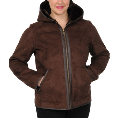 jcpenney.com | Excelled Faux-Shearling Jacket