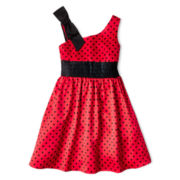 Disorderly Kids® One-Shoulder Dress - Girls 7-16