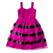 Speechless® Striped Tulle Dress - Girls 7-16