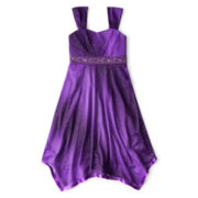 Speechless® Sparkle Handkerchief Dress - Girls 7-16