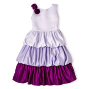Princess Faith Bubble 3-Tier Dress - Girls 7-12