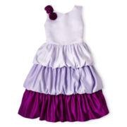 Princess Faith Bubble 3-Tier Dress - Girls 7-12
