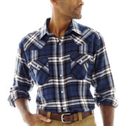 Ely Cattleman® Western Flannel Snap Shirt