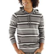 Arizona Multi-Striped Knit Hoodie