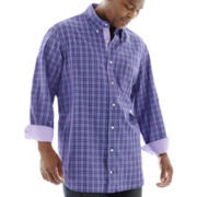 TailorByrd Long-Sleeve Woven Shirt–Big & Tall