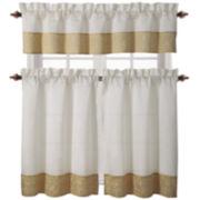 Victoria Classics Ella 3-pc. Kitchen Curtain Set