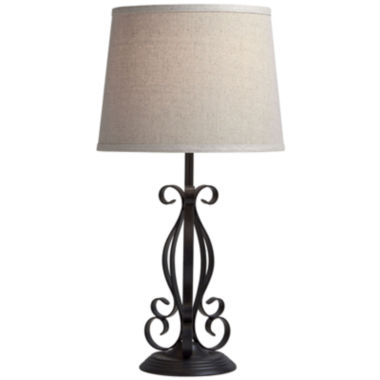 jcpenney.com | JCPenney Home™ Set of 2 Iron Scrollwork Table Lamps