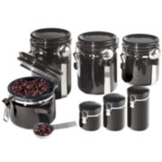 OGGI™ 7-pc. Ceramic Canister Set