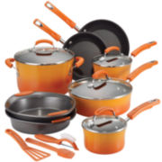 Rachael Ray® 15-pc. Porcelain Cookware Set