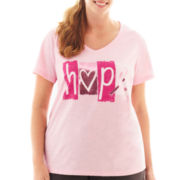 Made For Life™ Breast Cancer Awareness Tee - Plus