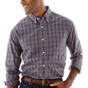 Haggar® Long-Sleeve Poplin Shirt
