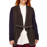 Stylus™ Long-Sleeve Thermal Flyaway Cardigan - Plus