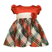 Bonnie Jean® Plaid Dress - Baby Girls newborn-24m