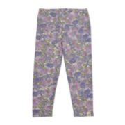 Burt's Bees Baby™ Floral Jeggings - Baby Girls 3m-24m