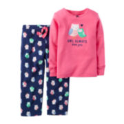 Carter's® Owl-Print Pajama Set - Baby Girls newborn-24m