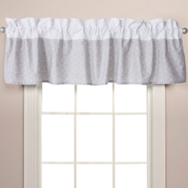 jcpenney.com | Trend Lab® Gray Circles Window Valance