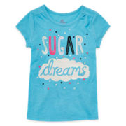 Okie Dokie® Graphic Tee - Preschool Girls 4-6x