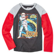 Star Wars Long-Sleeve Raglan Tee - Boys 8-20