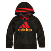 adidas® Performance Pullover Fleece Hoodie - Preschool Boys 4-7