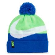 Nike® Swoosh Pompom Beanie - Boys 8-20