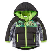 Teenage Mutant Ninja Turtles Puffer Jacket - Toddler Boys 2t-5t