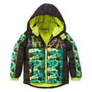 Teenage Mutant Ninja Turtles Puffer Jacket - Preschool Boys 4-7