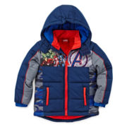 Avengers Puffer Jacket - Preschool Boys 4-7