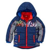 Avengers Puffer Jacket - Preschool Boys 4-7