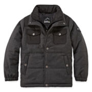 Ixtreme Quilted Wool Jacket - Boys 8-18