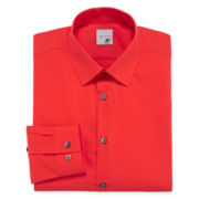 JF J. Ferrar® Solid Dress Shirt - Super Slim