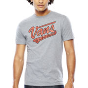 Vans® Softball Short-Sleeve Logo Tee