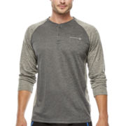 Free Country® Raglan-Sleeve Henley