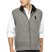 U.S. Polo Assn.® Sherpa-Lined Full-Zip Vest