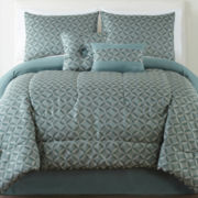 Edge 6-pc. Jacquard Comforter Set