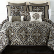 Home Expressions™ Vincenzo 7-pc. Comforter Set & Accessories