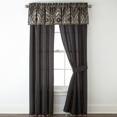 jcpenney.com | Home Expressions™ Vincenzo 2-Pack Curtain Panels