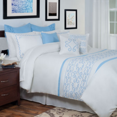 jcpenney.com | Cambridge Home Isabella Oversized Embroidered Complete Bedding Set with Sheets