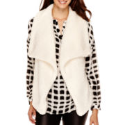 a.n.a® Sherpa Sweater Vest