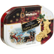 Festive Shapes Cookie Tin