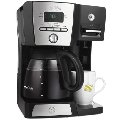 mr coffee versatile brew 12 cup programmable coffee maker and hot water dispenser bvmc dmx85. Black Bedroom Furniture Sets. Home Design Ideas