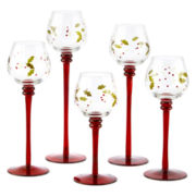 Pfaltzgraff® Winterberry 5-pc. Candle Holder Set