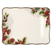 JCPenney Home™ Pineberry Serving Platter